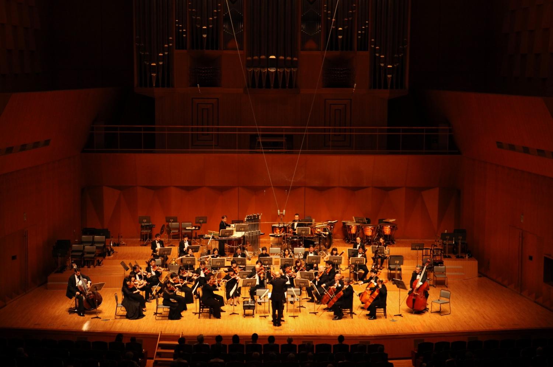 オーケストラコンサートの様子
