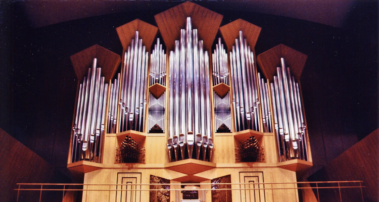 コンサートホール パイプオルガン